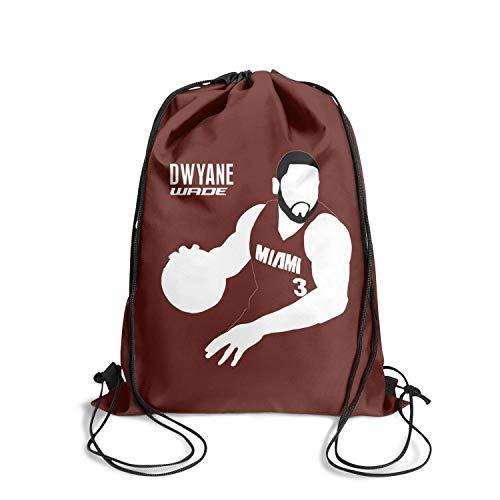 (Sios07 Basketball Sackpack Drawstring Backpack Cinch Sack Printted Limited Edition Knapsack Adjustable)