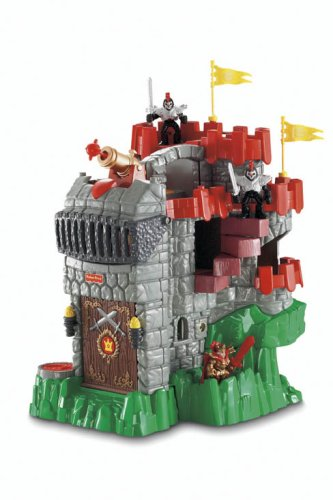 Amazoncom FisherPrice Imaginext Adventures Castle Toys  Games