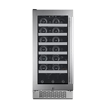 Avallon AWC151SZLH 15 Inch Wide 27 Bottle Capacity Single Zone Wine Cooler with