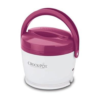 Crock-Pot 20-Ounce Lunch Crock Food Warmer, Pink