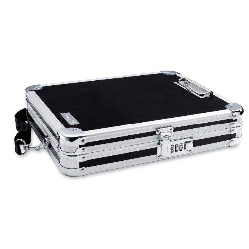 Vaultz Locking Storage Clipboard Black (VZ01230)