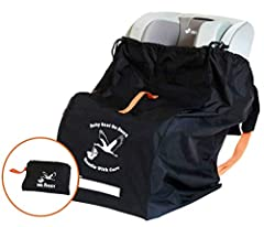 ✈️ Keep your car seat dust free, stain free and safe from rain! Our baby car seat travel bag is meant to provide extra protection, and also be a convenient way to carry your car seat through the airport!  ✈️ We designed our premium car seat a...