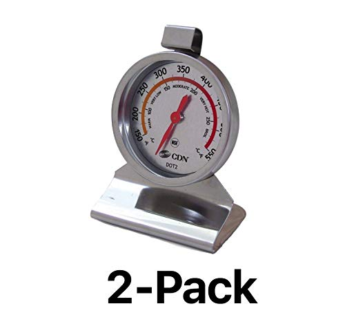 CDN Set of 2 Oven Thermometers DOT 2PK