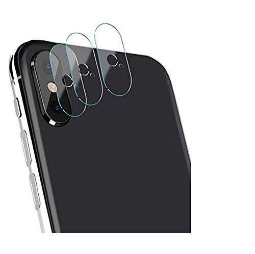 ??MChoice??2X Back Camera Lens Tempered Glass Screen Film Protector for iPhone Xs 5.8 inch