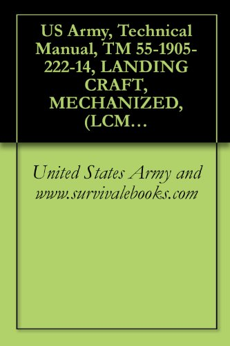 US Army, Mechanical Manual, TM 55-1905-222-14, LANDING CRAFT, MECHANIZED, (LCM-8), (ROHR AND GUNDERSON MODELS), OPERATOR MAINTENANCE, (1905-01-284-2647 AND 1905-01-284-2648), 1989