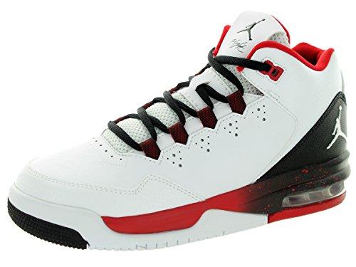 save off ce83f 7bbe3 Nike Jordan Kids Jordan Flight Origin 2 GS White/White/Black ...