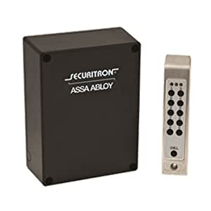 securitron dk 26ss digital keypad entry system sinlge door stand alone. Black Bedroom Furniture Sets. Home Design Ideas