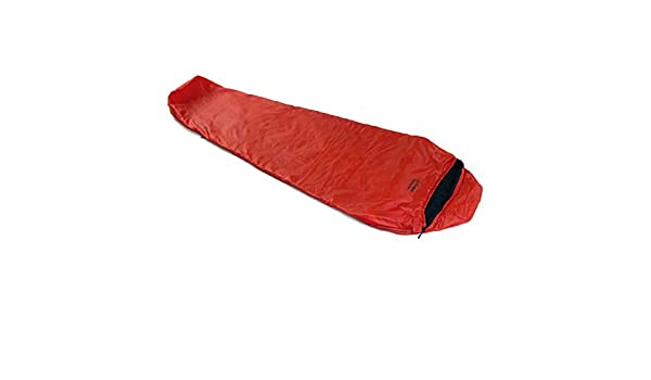 SnugPak Travel Pak - Saco de Dormir con Cremallera (1 L), Color Rojo: Amazon.es: Deportes y aire libre