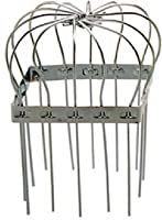 "Peak 1640 Chef's Hat Rectangular Wire Leaf Strainer, Zinc Coated Steel, 2"" X 3"""