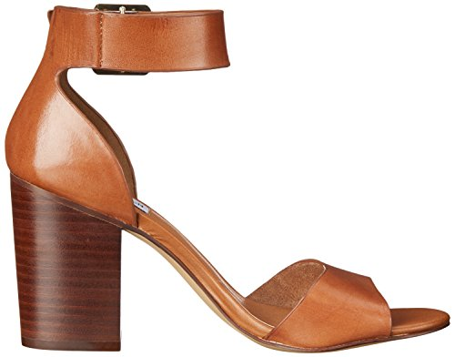 Steve Madden ESTORIA - Sandalias de tacón Mujer Cognac