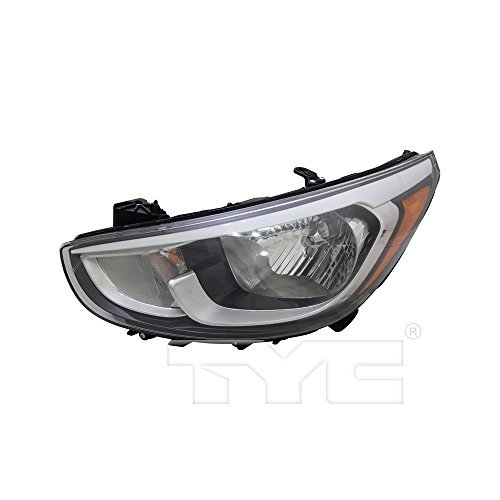 (TYC 20-9718-00-1 Replacement Left Head Lamp for Hyundai Accent)