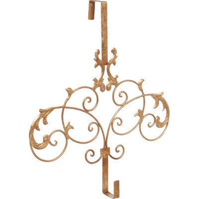 Formal Scroll Wreath Holder Door Mount by Gifted Living