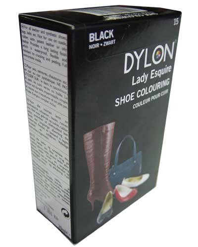 Dylon Shoe & Accessories Colour Dye – Black