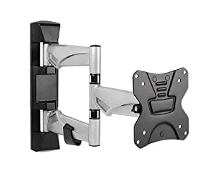 full motion tv wall mount for most 13 27 home audio theater. Black Bedroom Furniture Sets. Home Design Ideas