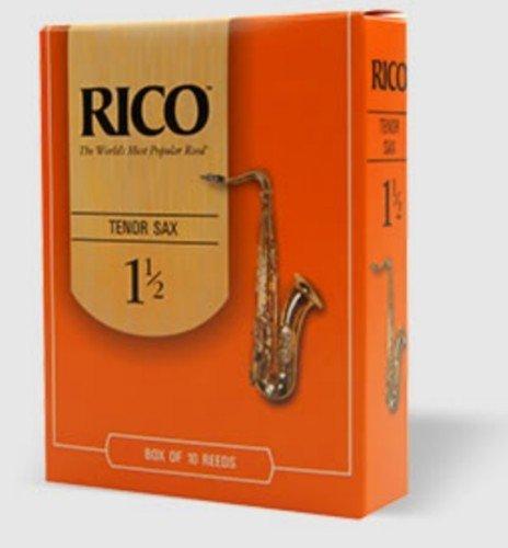 CAÑAS SAXOFON TENOR - Rico (Caja Naranja) (Dureza 3 ½) (Caja de 10 Unidades)