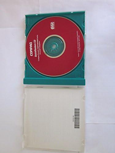 COMPAQ QuickRestore CD、Compaq Presario 5200/9200/9600シリーズ、取扱説明書、バージョン1.0、1995。