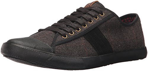 Ben Sherman Men's Eddie Lo Sneaker, Grey Wool, 11 M - Sherman Ben Shop