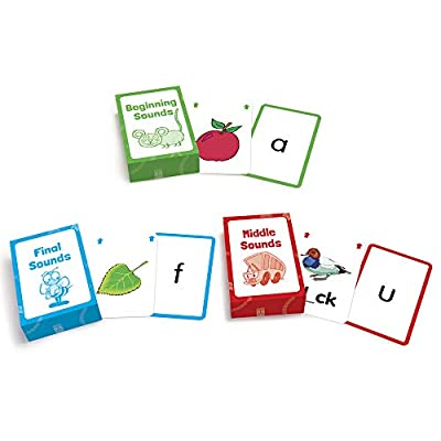 Junior Learning Letter Sound Flash Cards: Toys & Games