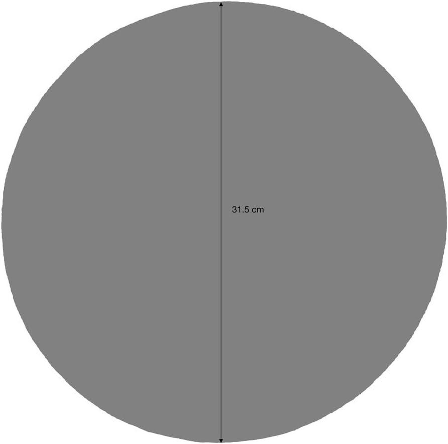 Set de Table//napperons Rond en Jute et Coton Commerce /équitable tiss/é a la Main 32/cm Bleu ProCook