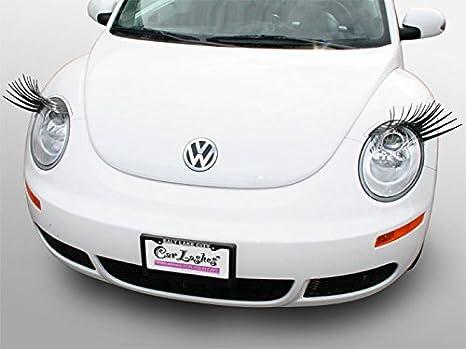 Bug Car With Eyelashes >> Amazon Com Carlashes For New Beetle 1998 2011 Classic Black Car