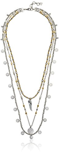 Lucky Brand Wing Lucky Layer Necklace, 15