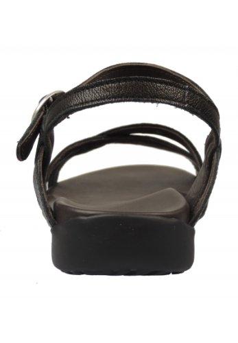 Think! 2-82554 - Sandalias de Vestir de cuero Mujer negro - negro