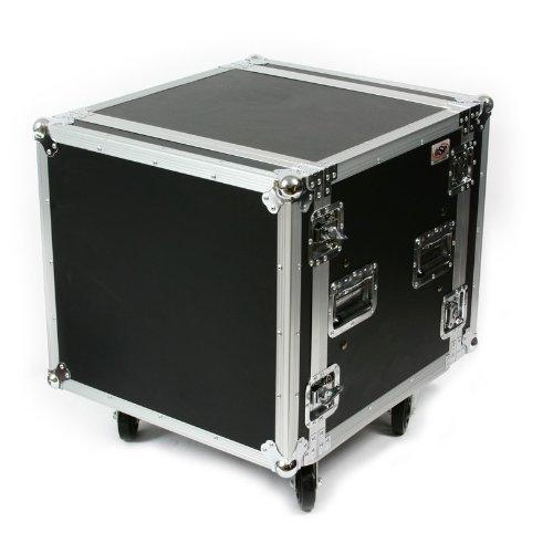 10 Space ATA Shock Amp Rack Case w/ (16u Shock)