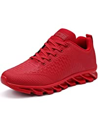 Men's Stylish Sneakers Leather Athletic-Inspired Shoes