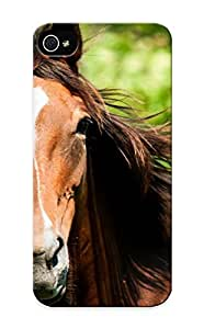 High Quality Honeyhoney Animal Horse Skin Case Cover Specially Designed For Iphone - 6 4.7