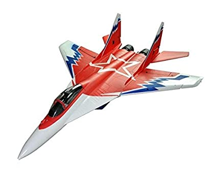 PowerTRC MIG-29 Remote Control Jet 2 4Ghz Remote, High Speed Fighter Jet,  RC Airplane