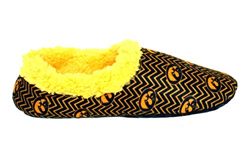 College NCAA Iowa Hawkeyes Officially Slip Chevron Mens Licensed On Feet Happy Womens and nwxC0q4BxP