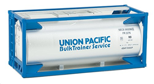 Walthers Container Scale Ho (Walthers HO Scale 20' Tank Shipping Container Kit Union Pacific/UP)