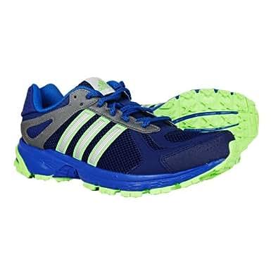 New Adidas Duramo 5 TR Blue/Green Mens 12