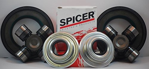 Ford Superduty F250/F350 Dana Super 60 2005-2014 Front Axle Seal and U Joint Kit by Dana Spicer