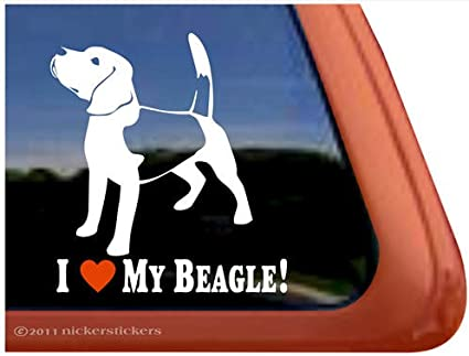 I LOVE MY BEAGLE PET DOG PET PAW PUPPY PUPPIES Black License Plate Frame NEW