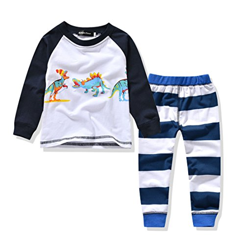 Pajamas Jammies Sleepwear Organic Dinosaur