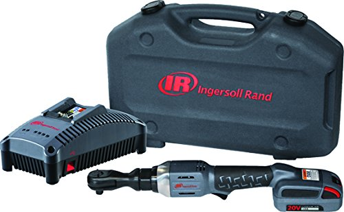 Ingersoll Rand R3150-K12 Cordless Ratchet with 1 Li-on Battery, Charger and Case, - Rand Ingersoll Case