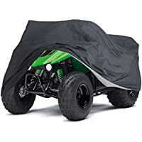 Lawn Mower Cover, MAYHOUR Waterproof Universal Fit Riding Tractor Cover UV Resistant Garden Lawn Mower Cover for Ride-On…