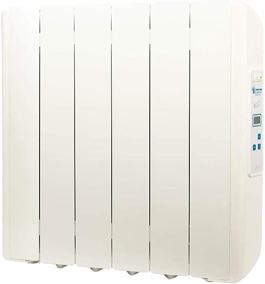 farho Radiador Electrico Bajo Consumo 750 W Eco-X /·/·/· Radiador Electrico Programable 7 d/ías // 24 HR /· Emisor T/érmico Fluido Digital /·/·/· Calefacci/ón El/éctrica con 20 A/ÑOS
