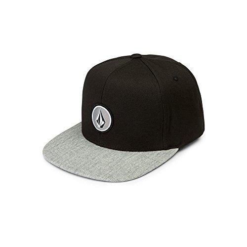 Volcom Big Boys' Quarter Twill Snapback Hat, Cement Grey, (Big Boy Hats)