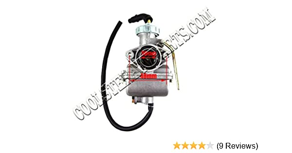 PZ20 20mm Carburetor for 50cc 70cc 90cc 110cc 125cc 135cc ATV ...
