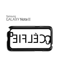 Celfie Inverted Selfie Alone Mobile Cell Phone Case Samsung Note 2 White