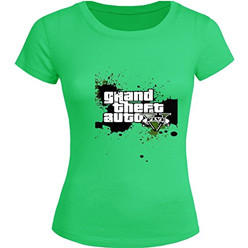 Price comparison product image GTA 5 Grand Theft Auto For 2016 Womens Printed Short Sleeve tops t shirts