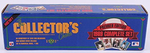 - 1989 Upper Deck MLB Baseball Factory Set (sticker disc seal)