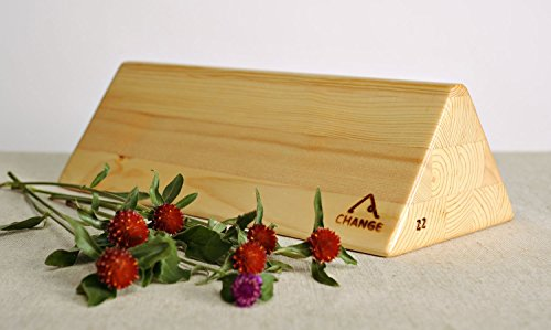 Triangular Block for Practicing Yoga by MadeHeart   Buy handmade goods