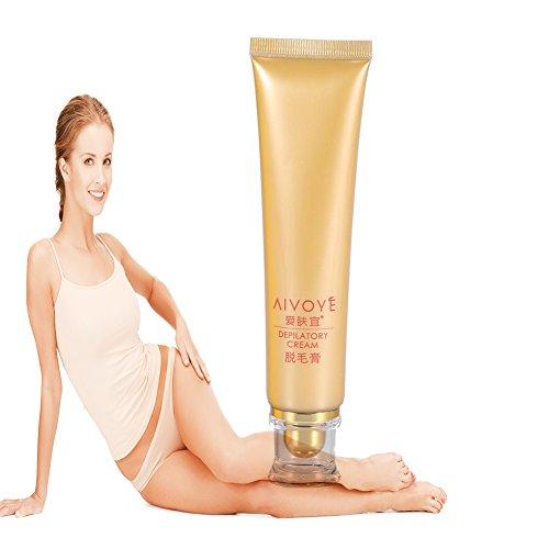 Gel Hair Removal Cream, Legs & Body Inspirations Wax Strip Kit Bikini, Underarm, Face