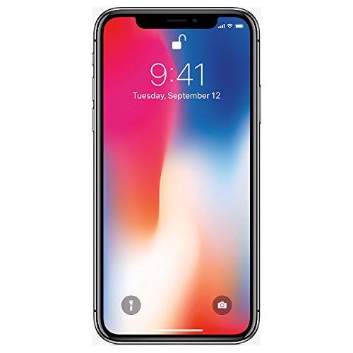 Apple iPhone X, GSM Unlocked 5.8', 256 GB -...