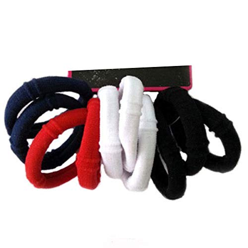 Price comparison product image 30 PCS Elastic Hair Ties Rubber Band Ponytail Scrunchies Women Girl (Tommy)
