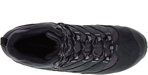 MERRELL Chameleon 7 Mid Waterproof Chaussures Homme, J12039 Noir