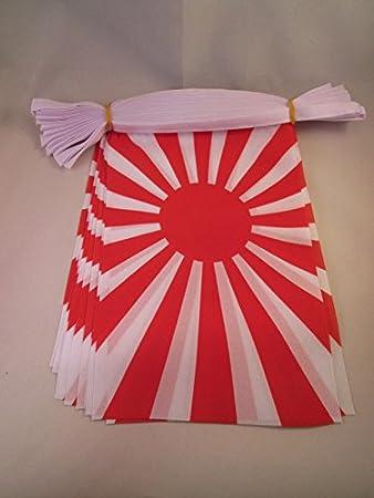 AZ FLAG Guirnalda 6 Metros 20 Banderas del JAPÓN WWI DE Guerra ...